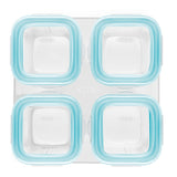 OXO Tot Glass Baby Blocks 4 oz (Set of 4)
