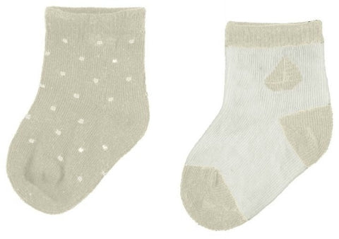 Mayoral 2 Socks Set - 9.454, Vison