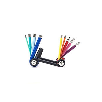 Kikkerland Rainbow Multi Tool Set