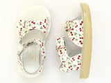 Salt Water Sandals - Toddler Surfer Cherry Print