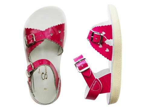 Salt Water Sandals - Toddler Sweetheart Shiny Fuchsia