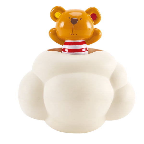 Hape Bath Pop-Up Teddy Shower Buddy