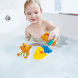Hape Bath Swimmer Teddy Wind-Up Toy