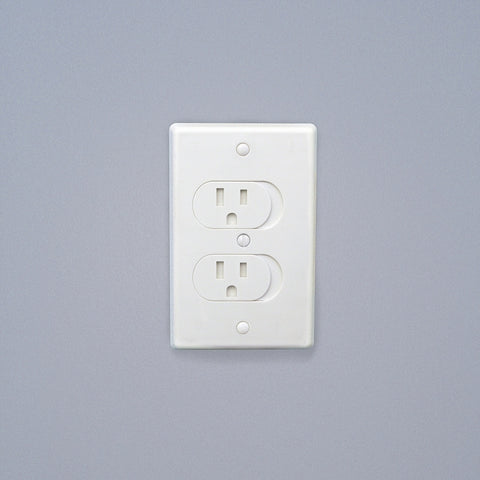Qdos Universal Self-Closing Outlet Cover 3pk