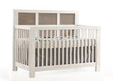 Natart Rustico Moderno 5-in-1 Convertible Crib (without rails)