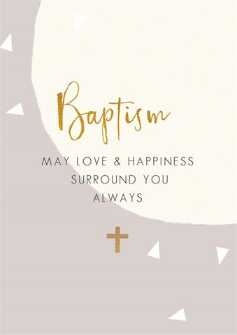 Hammond Gower Baptism Card
