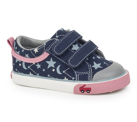 See Kai Run Toddler Shoes Robyne - Navy/Star