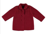 Mayoral Knit Coat 2.477, Silver