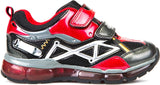Geox Junior Android Boys Shoes - Red/Black