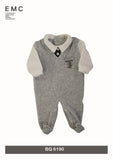 EMC Knit Velour Sleeper - BQ6190