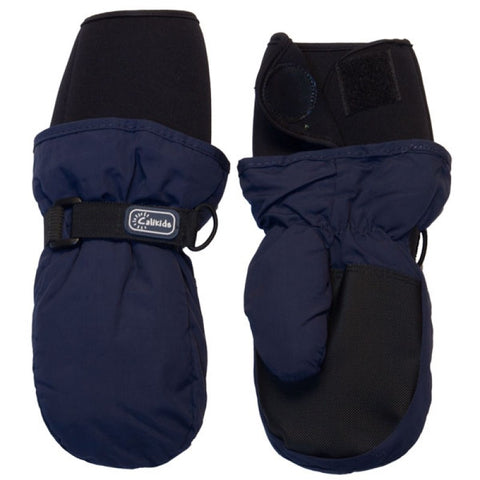Calikids Waterproof Mitten Neoprene Cuff - Navy