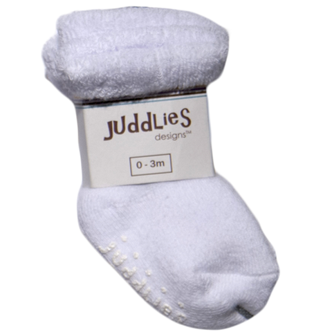 Juddlies Infant Socks (2pk)