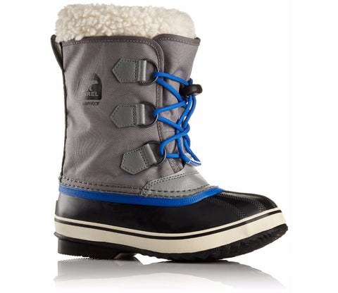 Sorel Childrens Boot - Yoot Pac Nylon - City Grey