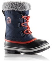 Sorel Childrens Boot - Yoot Pac Nylon - Collegiate Navy/Sail Red