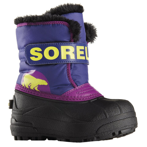 Sorel Toddler Boot - Snow Commander - Grape Juice/Bright Plum