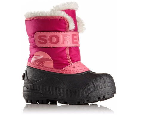 Sorel Toddler Boot - Snow Commander - Tropic Pink/Deep Blush