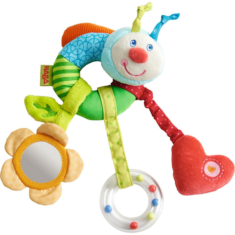 Haba Clutching Figure Rainbow Worm