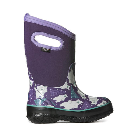 Bogs Kids Insulated Boots Classic Bears - Purple Multi