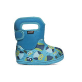 Bogs Baby Waterproof Boots Owls  - Blue Multi