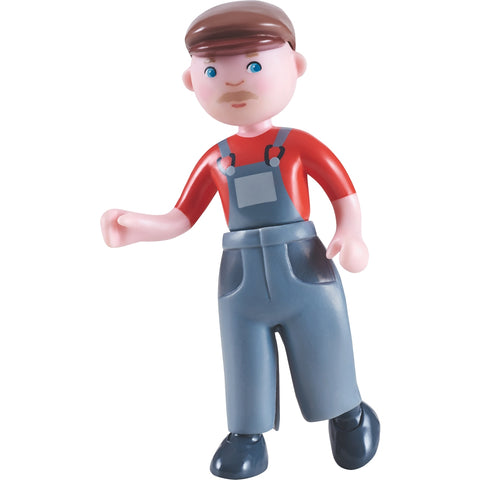 HABA Little Friends Farmer Bendy Doll