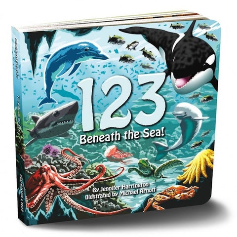Board Book: 123 Beneath the Sea!