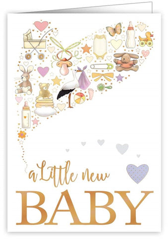 Quire Publishing Baby Congratulations Card