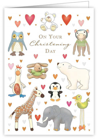 Quire Publishing Christening Card