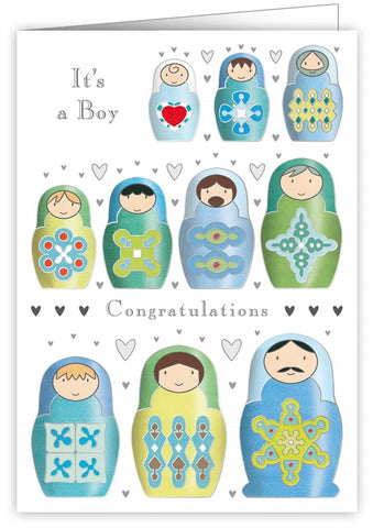 Quire Publishing Baby Boy Congratulations