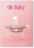 Marian Heath Baby Girl Congratulations Card