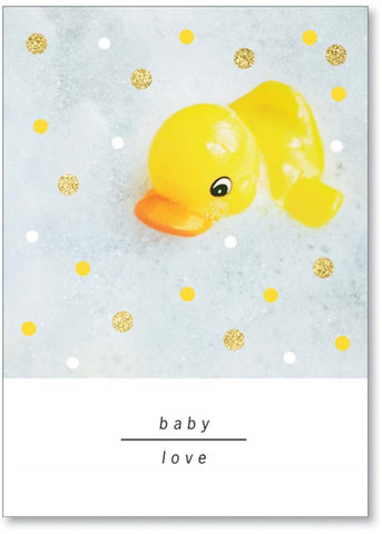 Marian Heath Baby Shower Card