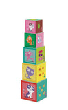 Djeco Stacking Cubes with Figurine