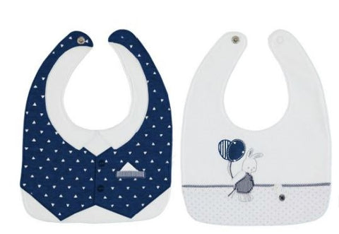 Mayoral 2 Bibs Set - 9.670, Navy