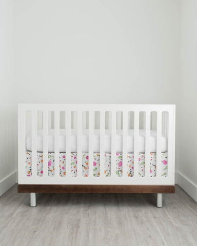 Little Unicorn Cotton Muslin Crib Skirt