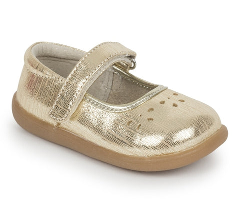 See Kai Run Toddler Shoes Ginger III - Gold