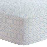 Kushies Fannel Fitted Crib Sheet