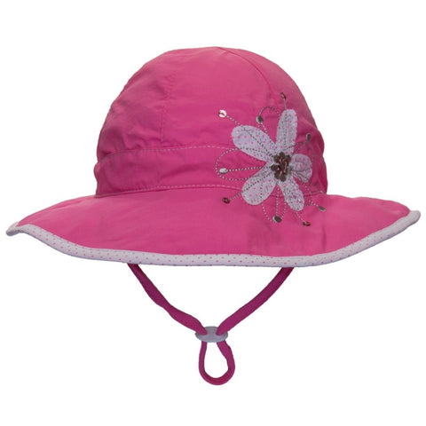 Calikids Ultimate Beach Sun Protection Hat - Azalea Pink