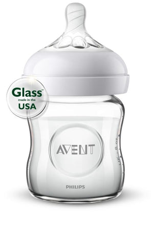 Philips Avent Natural Glass Bottle 4oz