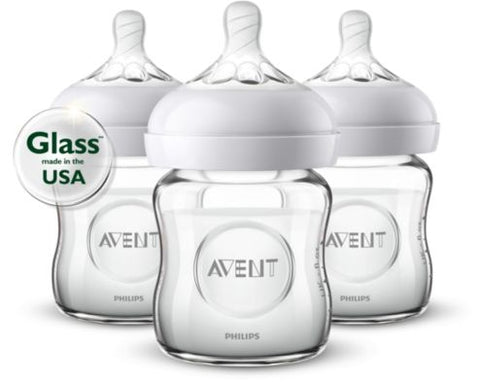 Philips Avent Natural Bottle Glass 4oz
