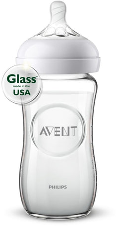 Philips Avent Natural Glass Bottle Glass 8oz