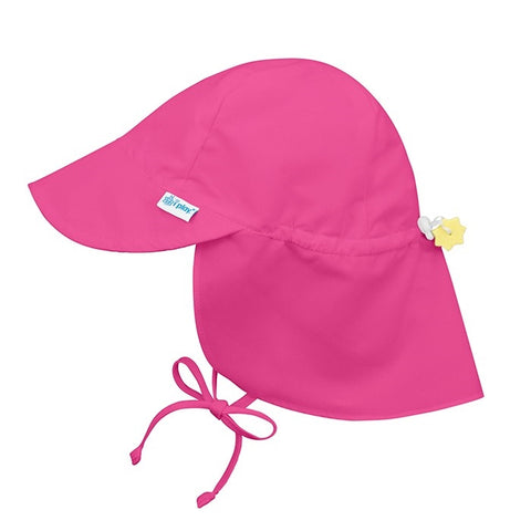 iPlay Flap Sun Protection Hat - Hot Pink