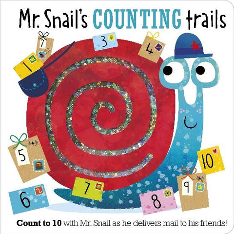 Make Believe Board Book - Mr. Snail's Counting Trails