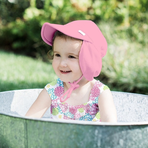7dc657ea29a2e iPlay Breatheasy Flap Sun Protection Hat - Light Pink – BB Buggy