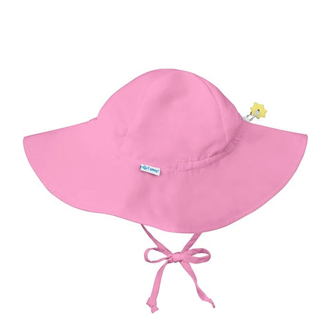 iPlay Solid Brim Sun Protection Hat - Light Pink