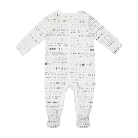 Petit Lem Quiet Sky Baby Sleeper Knit