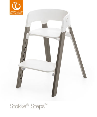 Stokke Steps Chair Complete with White Seat