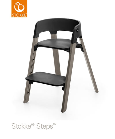 Stokke Steps Chair with Black Seat