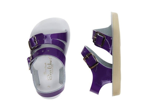 Salt Water Sandals - Infant Sea Wees Shiny Purple