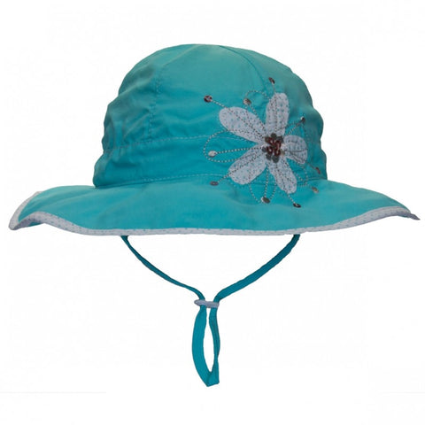 Calikids Ultimate Beach Sun Protection Hat - Aqua