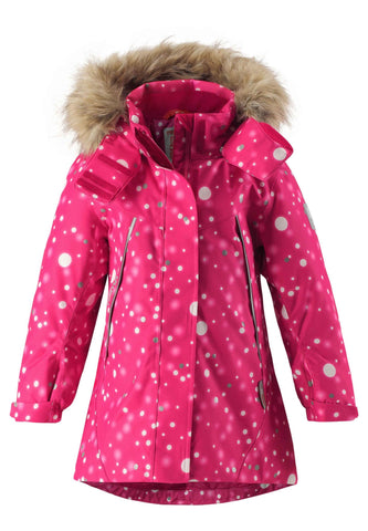 Reimatec Winter Jacket Silda - Cranberry