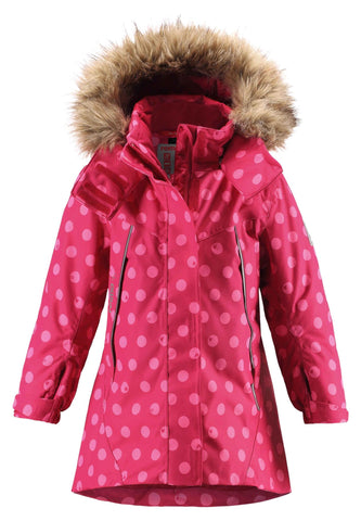 Reimatec Winter Jacket Muhvi - Cranberry